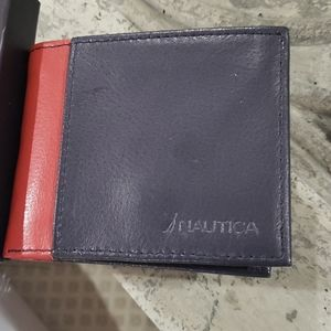 Nautica genuine leather wallet